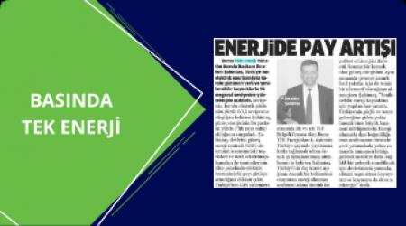 Tek Enerji in the press